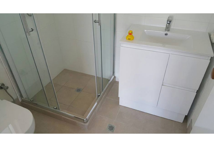 Bathroom Renovations Joondalup simple, clean bathroom renovation in clarkson